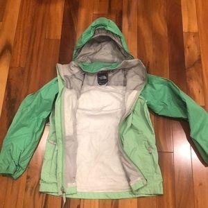 North Face Girls Large Rain Jacket Size 10-12.
